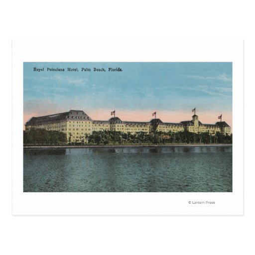 Palm Beach, FL - Ext.View of Royal Poinciana Postcards