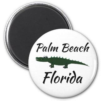 Palm Beach Florida 2 Inch Round Magnet