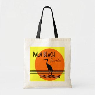 Palm Beach, Florida-Beach Souvenir Tote Bag