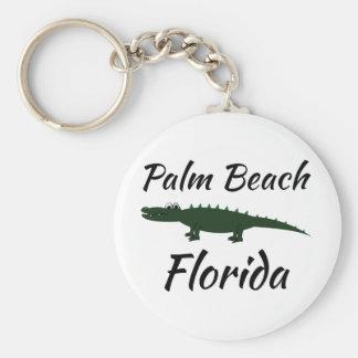 Palm Beach Florida Keychain
