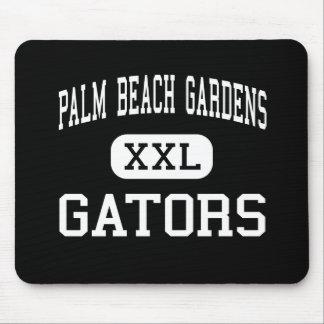 Palm Beach Gardens - cocodrilos - Palm Beach Garde Tapete De Ratones