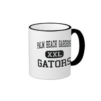 Palm Beach Gardens - cocodrilos - Palm Beach Garde Taza De Café