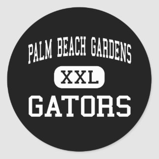 Palm Beach Gardens - Gators - Palm Beach Gardens Classic Round Sticker