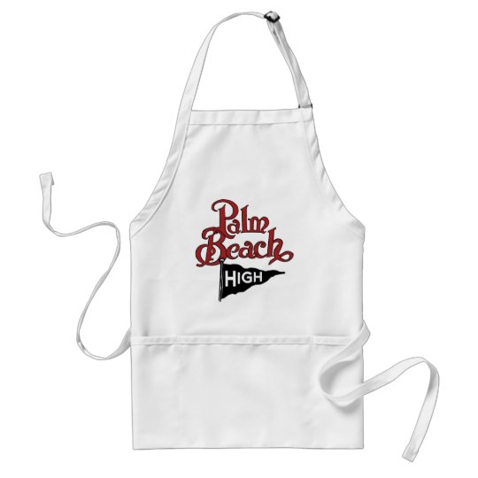 Palm Beach High #1 Adult Apron