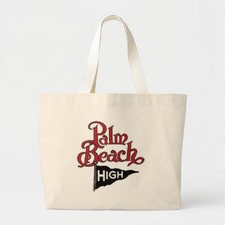 Palm Beach High #1 Large Tote Bag