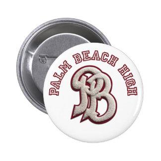 Palm Beach High #2 2 Inch Round Button
