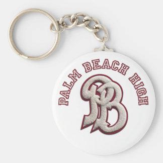 Palm Beach High #2 Basic Round Button Keychain