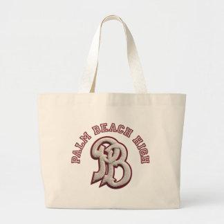 Palm Beach High #2 Jumbo Tote Bag