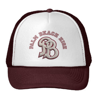 Palm Beach High #2 Trucker Hat