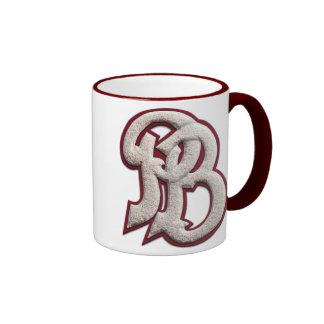 Palm Beach High Letterman Ringer Mug