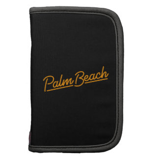 Palm Beach in orange Folio Planners