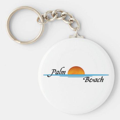 Palm Beach Key Chain