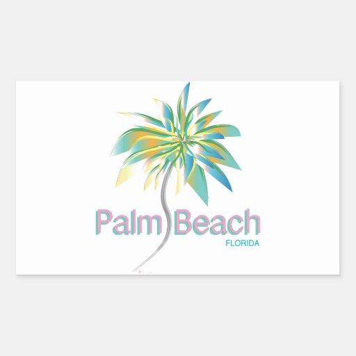 Palm Beach, la Florida Etiqueta