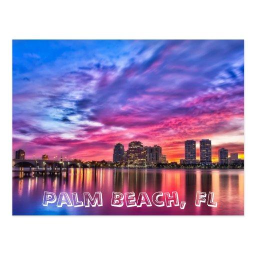 Palm Beach, la Florida Tarjetas Postales