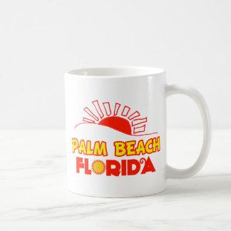 Palm Beach, la Florida Tazas