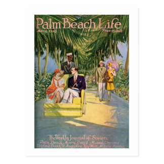 Palm Beach Life #10 postcard