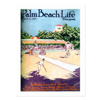Palm Beach Life #12 postcard