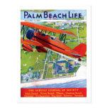 Palm Beach Life #1 postcard