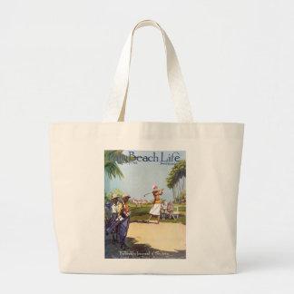 Palm Beach Life #20 tote Canvas Bags