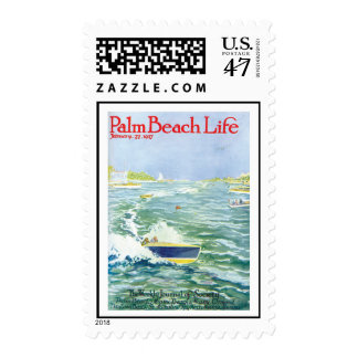 Palm Beach Life #2 postage stamp