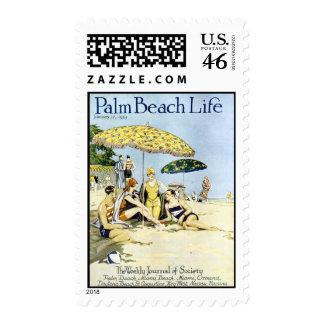 Palm Beach Life #3 postage stamp