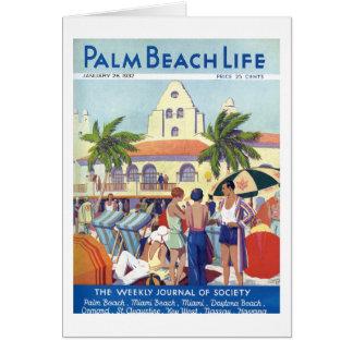 Palm Beach Life #8 note card