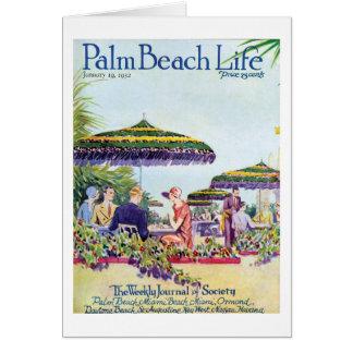 Palm Beach Life #9 note card