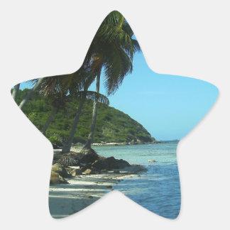 Palm Beach Pegatina En Forma De Estrella