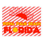 Palm Beach real, la Florida Postales