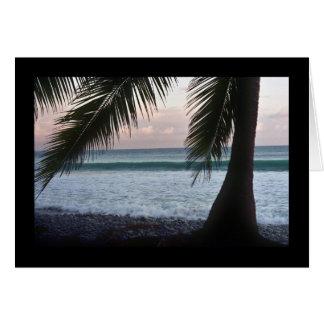 Palm Beach Scene Card