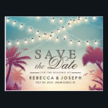 "Palm Beach String Lights Wedding Save the Date Postcard<br><div class=""desc"">Palm Beach String Lights Wedding Save the Date Postcard (1) If you are planning send out via USPS, you may consider use this version: https://www.zazzle.com/239372852674574822 (2) For further customization, please click the &quot;Customize&quot; button and use our design tool to modify this template. (3) If you need help or matching items,...</div>"