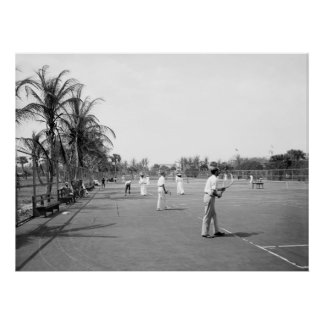 Palm Beach Tennis, 1900 Impresiones