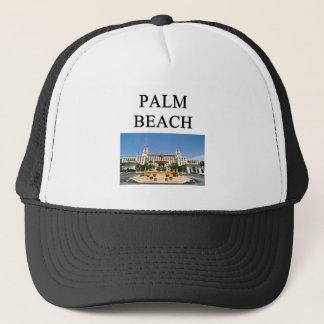 PALM BEACH TRUCKER HAT