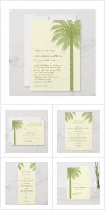 Palm Beach Wedding Set