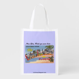 Palm Beaches Grocery Bag