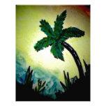 Palm Beauty Personalized Letterhead