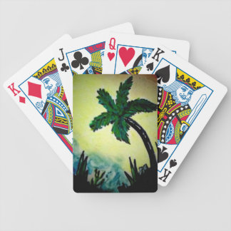 Palm Beauty Playing Cards