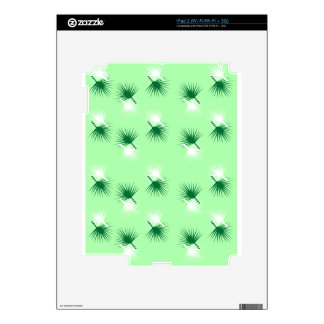 Palm Branches Skin For iPad 2