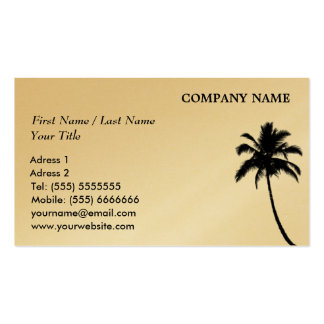 Palm Business Card