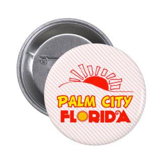 Palm City, Florida Pinback Buttons