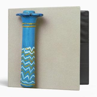 Palm column kohl flask, from Amarna Binder
