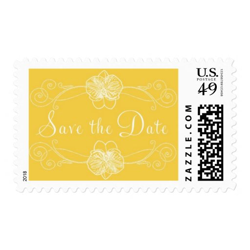 Palm Court C by Ceci New York Postage Stamp