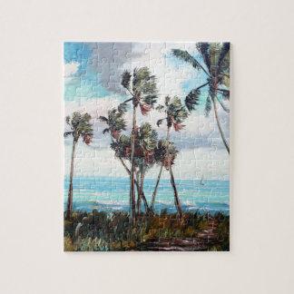 Palm Cove Jigsaw Puzzle