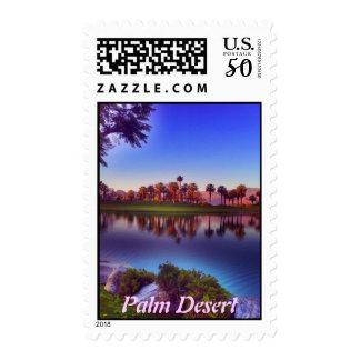 Palm Desert, CA Postage Stamp