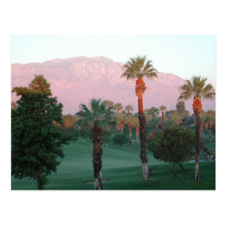 Palm Desert en la postal de la puesta del sol