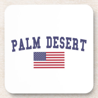 Palm Desert US Flag Beverage Coaster