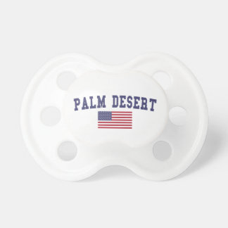 Palm Desert US Flag Pacifier