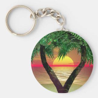 Palm Frame Key Chain