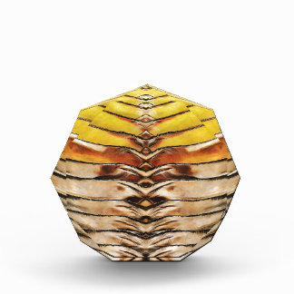 Palm Frond Leaf Macro Acrylic Award