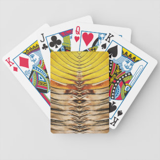 Palm Frond Leaf Macro Bicycle Playing Cards